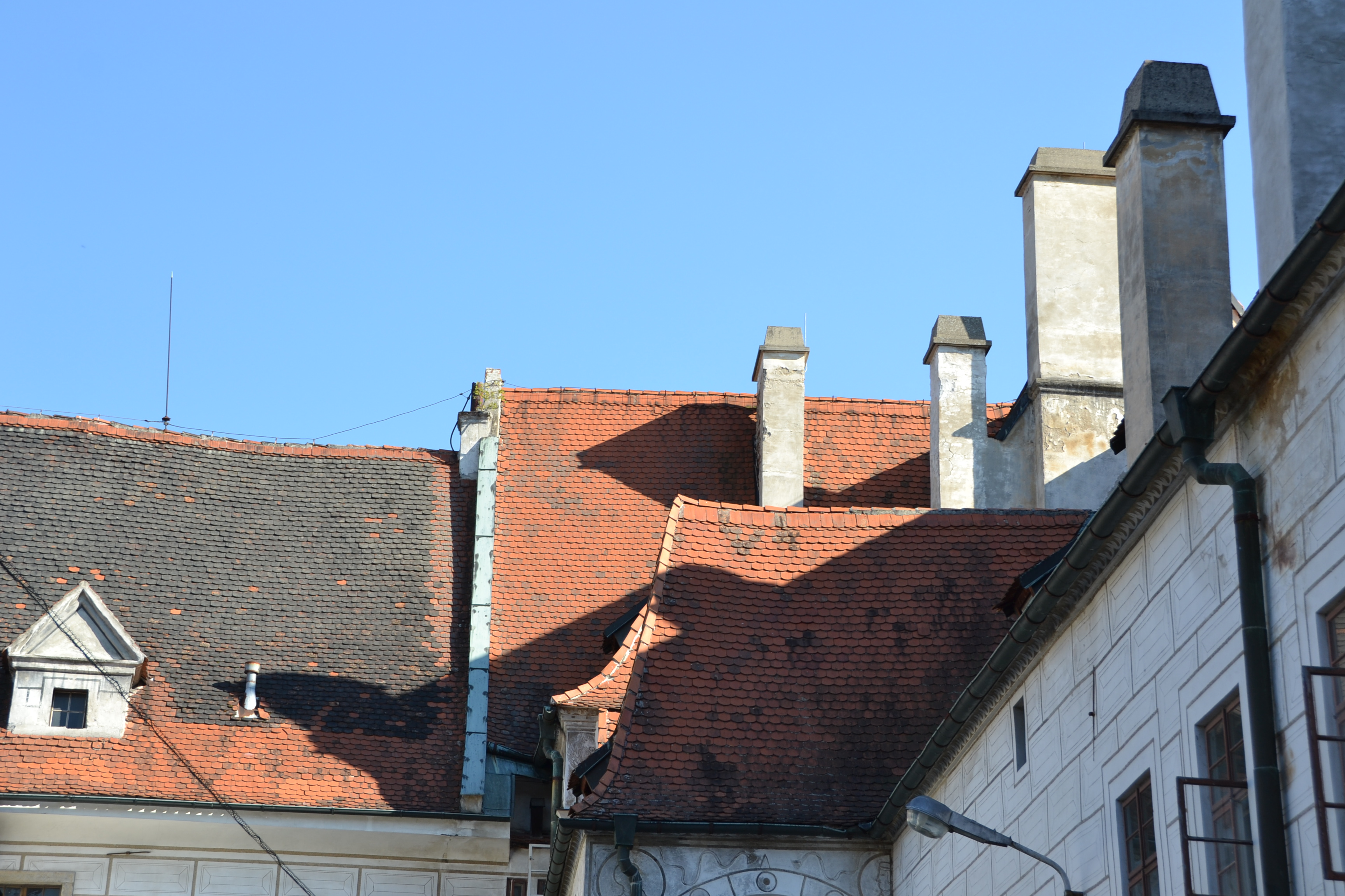 the roofs