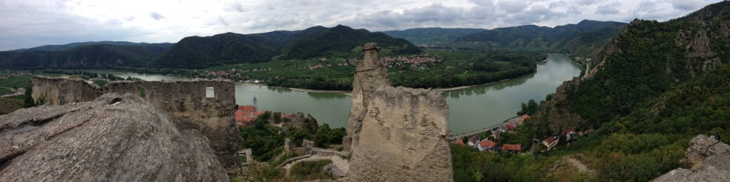 from the fortress