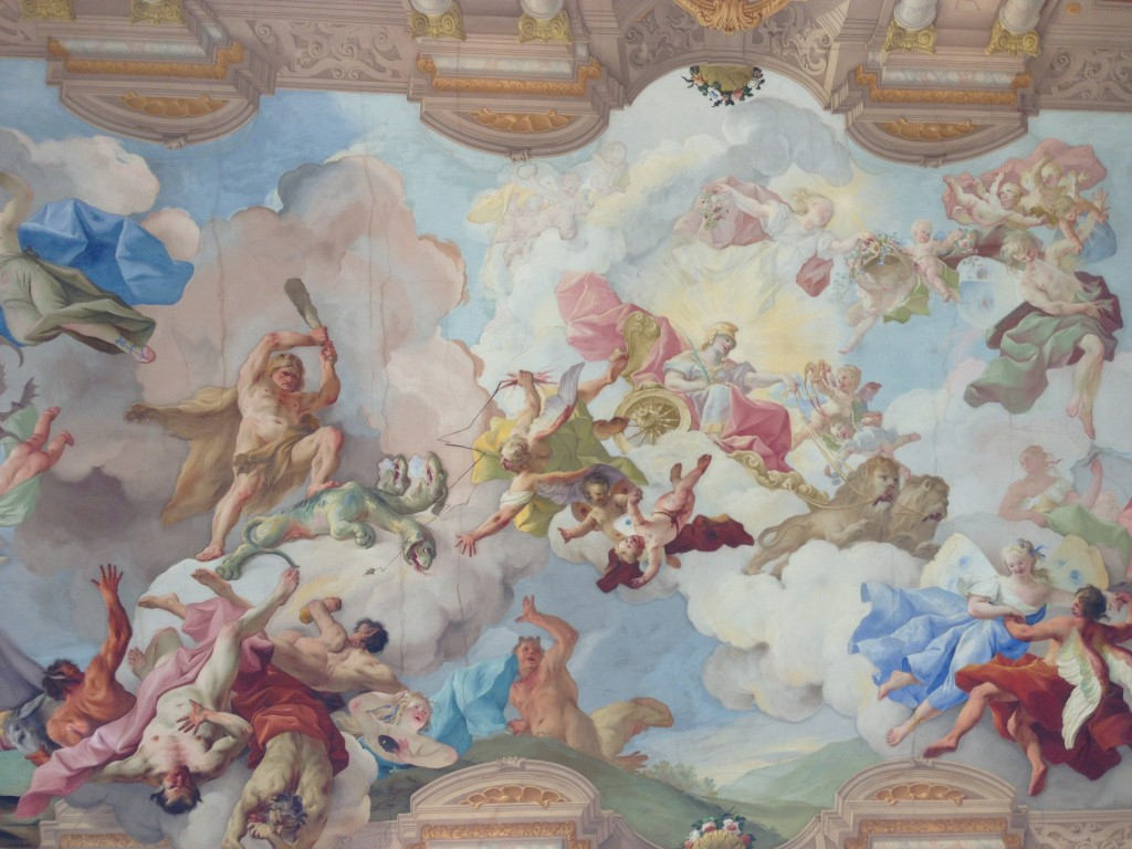 ceiling in melk
