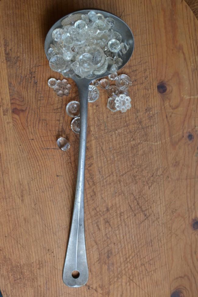 aluminum spoon