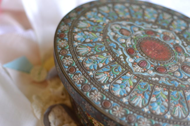 great grand mothers sewing box